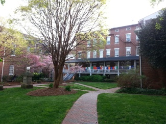 Salem College, Back Porch